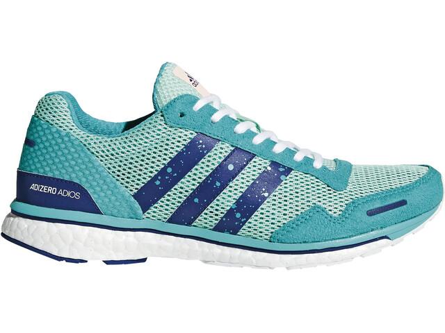adidas Adizero Adios 3 Running Shoes Women turquoise at Addnature.co.uk 7b4a36ce6